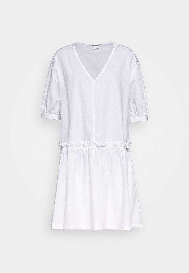 ROBIN DRESS - Korte jurk - white light