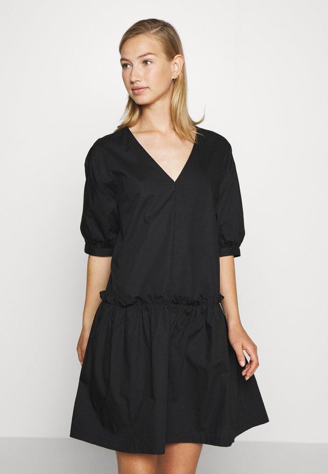 ROBIN DRESS - Freizeitkleid - black