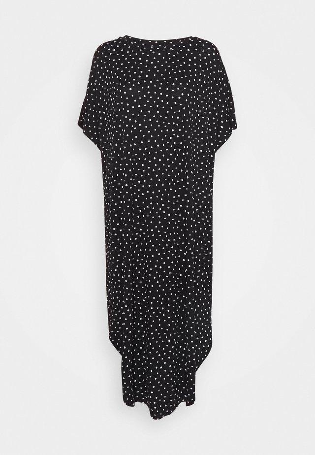 ROMA DRESS - Sukienka z dżerseju - black