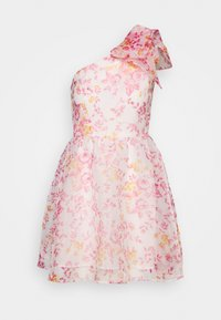Monki - CAMILLE DRESS - Cocktailjurk - white/pink - 4