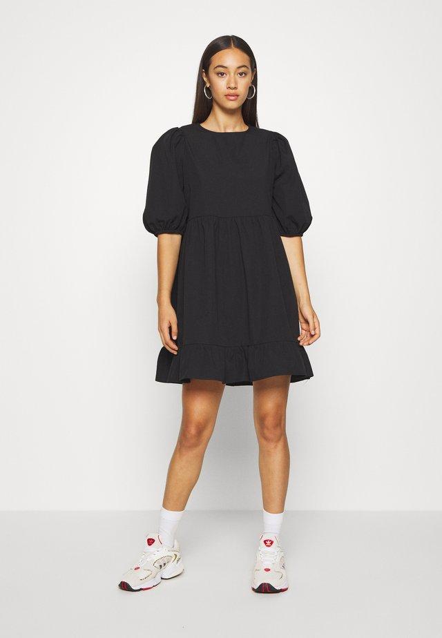 SOSSO DRESS - Freizeitkleid - black