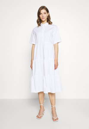 RONJA DRESS - Skjortekjole - white light