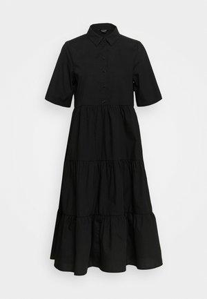 RONJA DRESS - Košilové šaty - black dark
