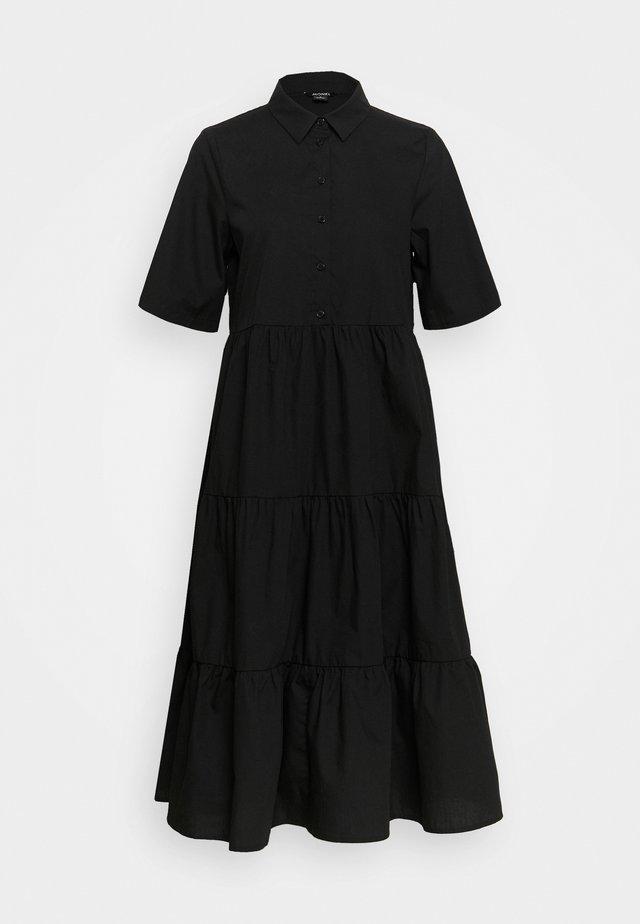 RONJA DRESS - Shirt dress - black dark