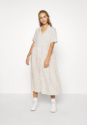 MATTAN DRESS - Blousejurk - white