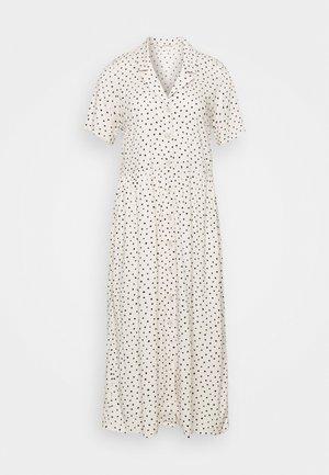 MATTAN DRESS - Košilové šaty - white