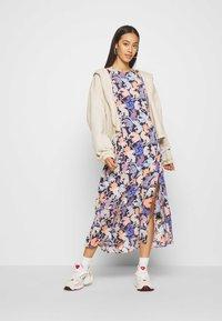 Monki - ANAYA DRESS - Korte jurk - blue dark - 1