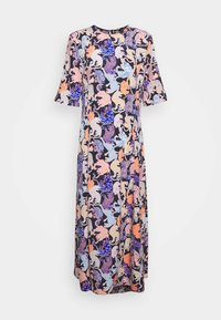 Monki - ANAYA DRESS - Korte jurk - blue dark - 4