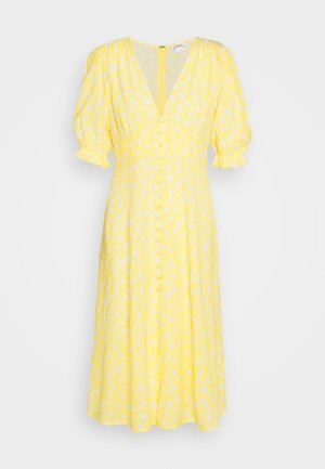 AVRIL DRESS - Abito a camicia - yellow