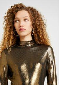 Monki - VANJA  - Long sleeved top - foile gold - 4