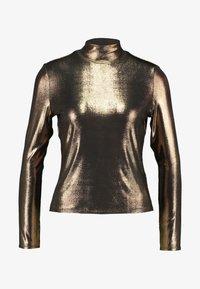 Monki - VANJA  - Long sleeved top - foile gold - 3