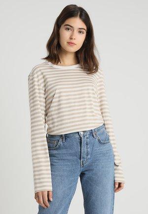 URSULA 2 PACK - Bluzka z długim rękawem - red/offwhite/beige/offwhite