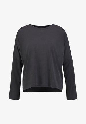 CLAUDIA - Long sleeved top - black