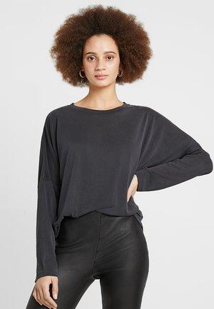 CLAUDIA - Maglietta a manica lunga - black
