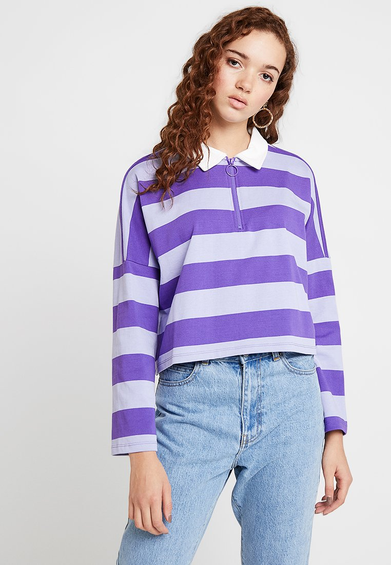 Monki - DOLLY - Long sleeved top - purle