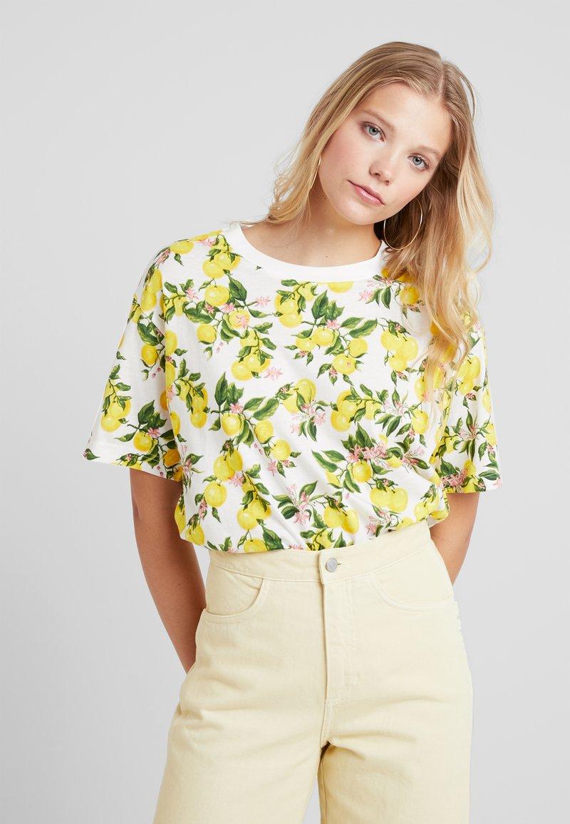 Monki - TOVI TEE - T-Shirt print - offwhite
