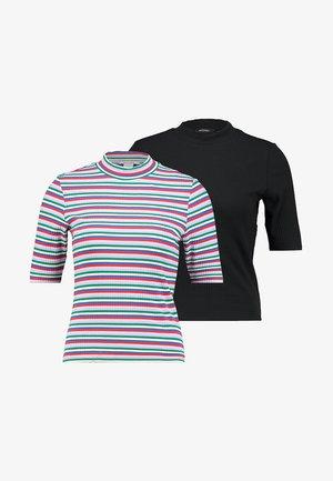 SABRINA 2 PACK - Print T-shirt - black/multi