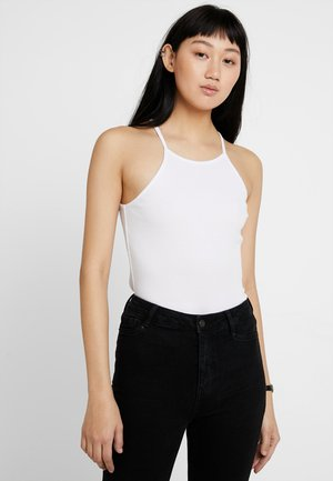 2 PACK ALEX SINGLET - Top - black/white