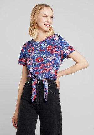 PAULINA TEE 2 PACK - Triko s potiskem - multi-coloured/white