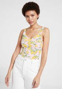 Monki - NOLA - Top - pink - 0