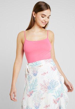 DALIA BODY - Top - solid neon pink