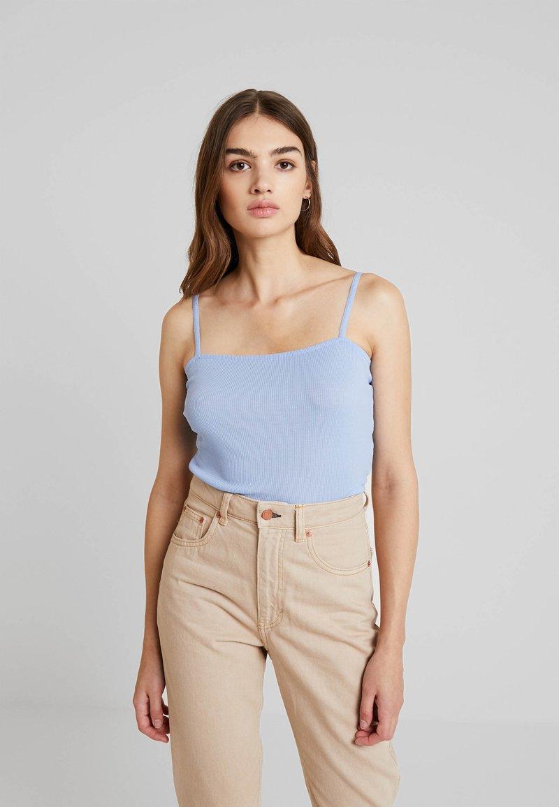 Monki - LINDY SINGLET UNIQUE 2 PACK - Top - blue/beige
