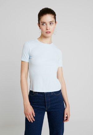LILIAN 2 PACK - T-shirts - blue/dusty pink