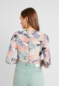 Monki - JONA BODY - Long sleeved top - pink - 2