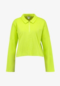 Monki - DOLLY - Topper langermet - lime green - 4