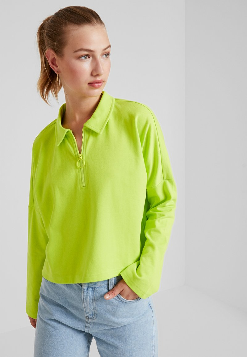 Monki - DOLLY - Topper langermet - lime green