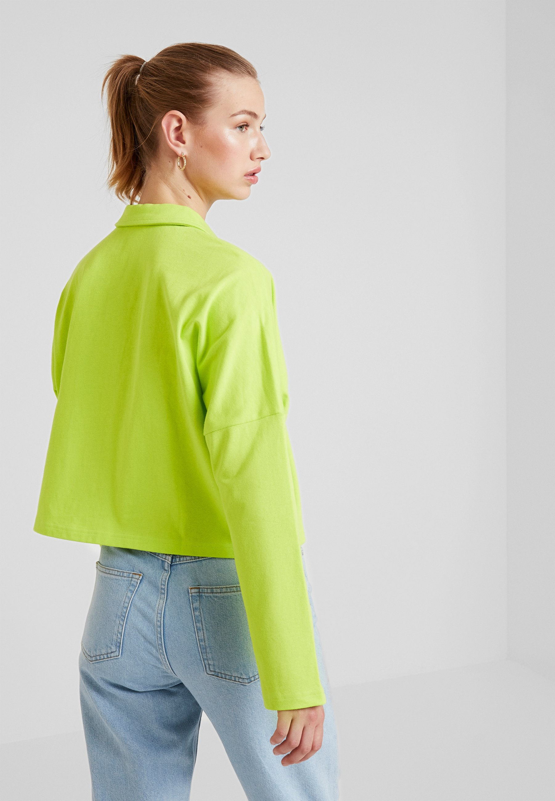 Longues Manches shirt À Green Monki DollyT Lime xeQoWrdECB
