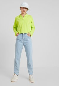 Monki - DOLLY - Topper langermet - lime green - 1