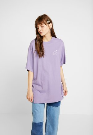 TORI TEE - T-shirt con stampa - lilac purple medium