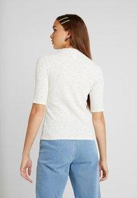 Monki - SABRINA - T-shirts med print - white - 2