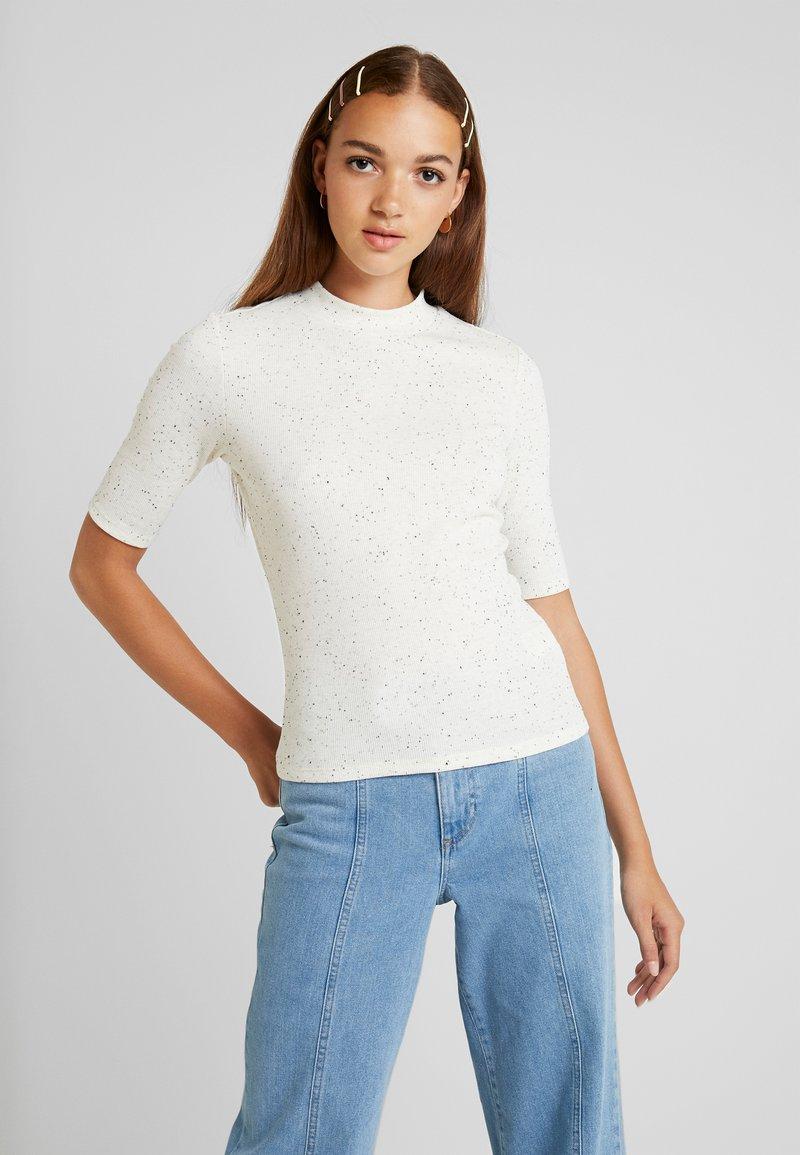 Monki - SABRINA - T-shirts med print - white