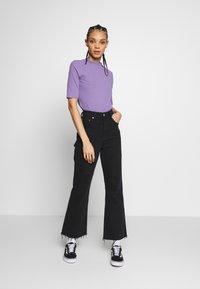Monki - SABRINA - Print T-shirt - lilac - 1