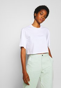 Monki - ELINA TOP 2 PACK - Basic T-shirt - lilac/white - 3