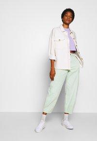 Monki - ELINA TOP 2 PACK - T-shirt basic - lilac/white - 1