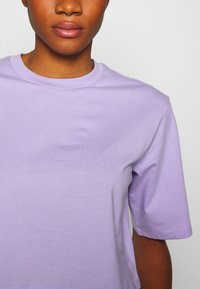 Monki - ELINA TOP 2 PACK - Basic T-shirt - lilac/white - 6