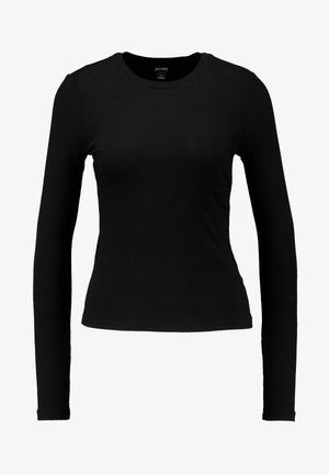 LILIANA - Camiseta de manga larga - black