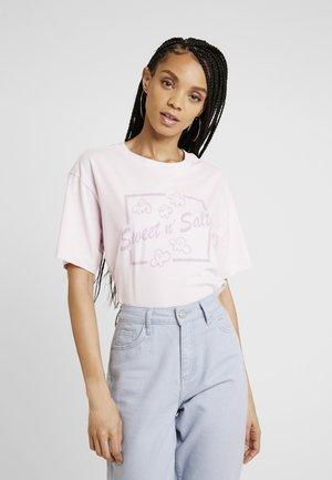 TOVI TEE - T-shirt z nadrukiem - lilac