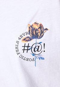 Monki - DAMALI  - T-shirt print - white - 5