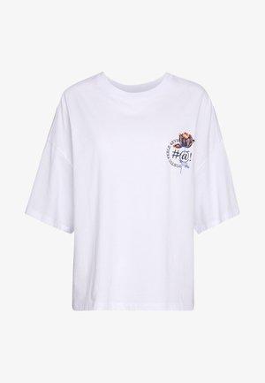 DAMALI  - T-shirt con stampa - white