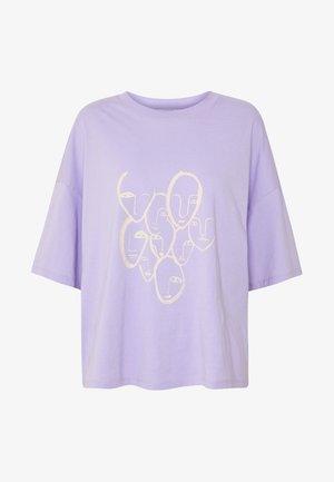 DAMALI  - Printtipaita - lilac