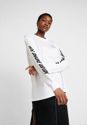 KLARA - Maglietta a manica lunga - white