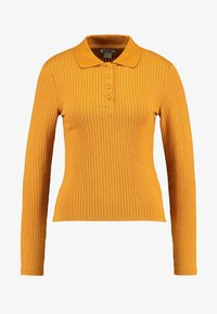 Monki - SIBYLLA - Strikkegenser - yellow dark - 3
