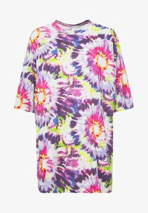 CISSI TEE - T-Shirt print - white/pink