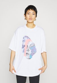 Monki - CISSI TEE - Print T-shirt - white - 0