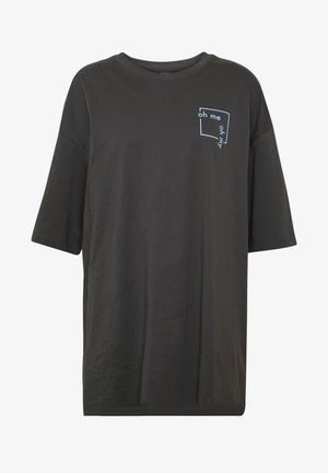 CISSI TEE - T-shirts - grey dark