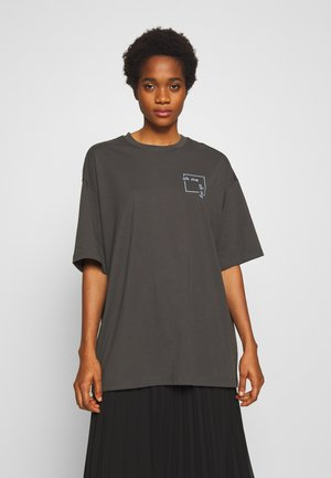 CISSI TEE - T-shirt print - grey dark